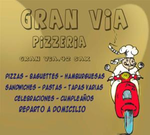 Pizzería Gran Vía - Sax